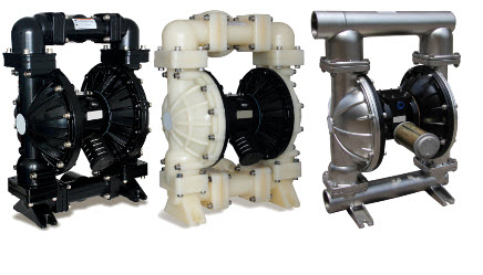 Air operated double diaphragm pumps reliable non stalling non lubricated air valve assembly ccuart Images